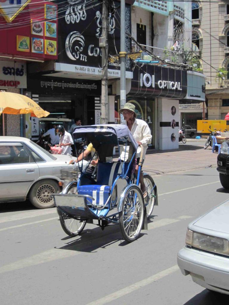 Cyclo pousse