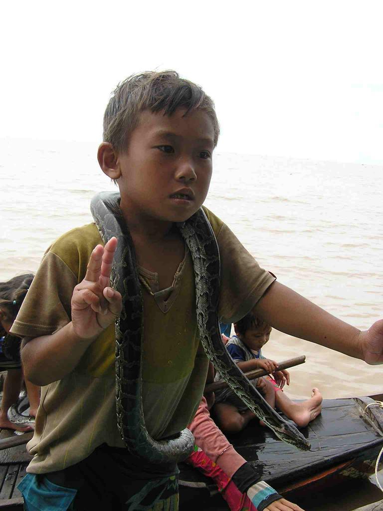 Enfants de l'eau