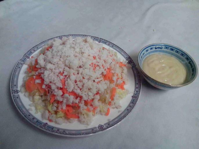 Salade crabe