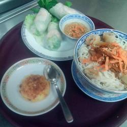 Rouleau de printemps; Banh Boung et gâteau de soja